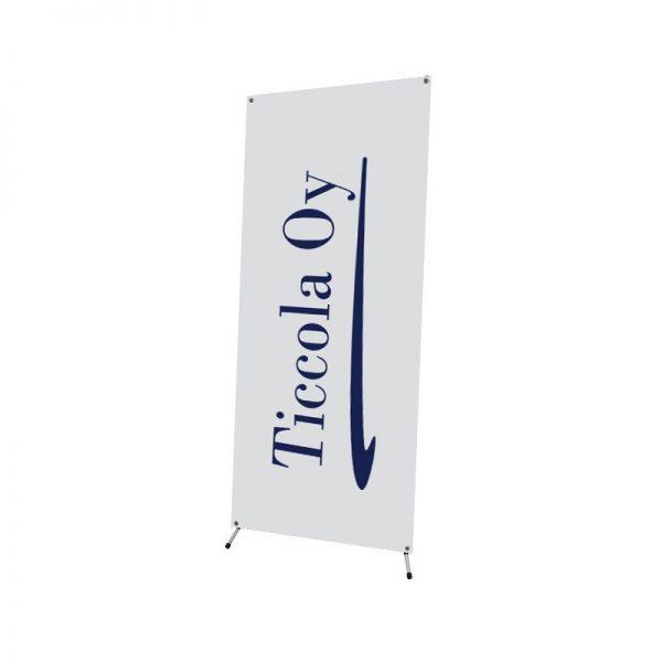 X-banner mainosteline