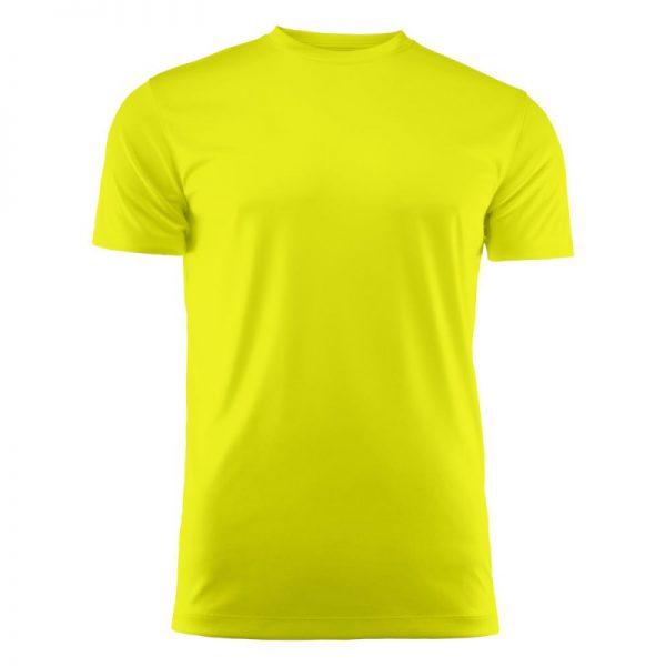 Tekninen T-paita Run logopainatuksella